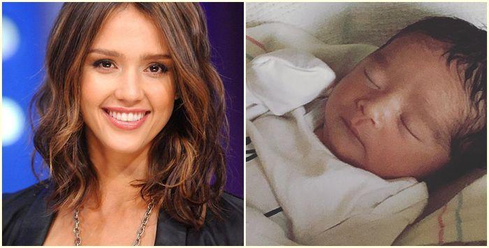 Джессика Альба в третий раз стала мамой