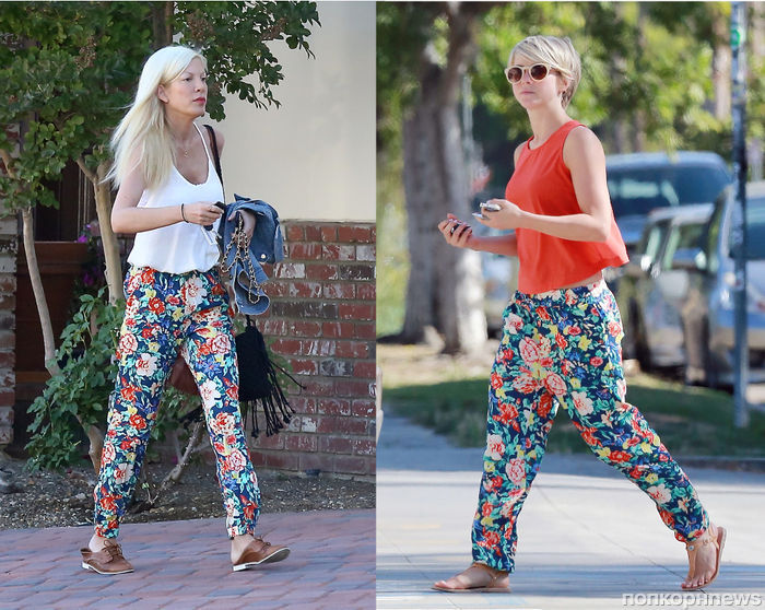 Fashion Battle: Тори Спеллинг и Джулианна Хаф