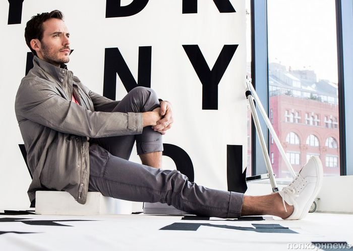 Сэм Клафлин снялся в рекламе мужской коллекции DKNY весна-лето 2018