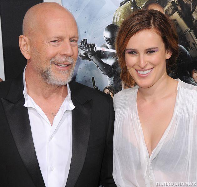 Брюс Уиллис не знал, что снимается в одном фильме со своей дочерью