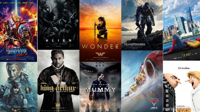 Видео: все фильмы 2017 года объединили в одном колоссальном трейлере