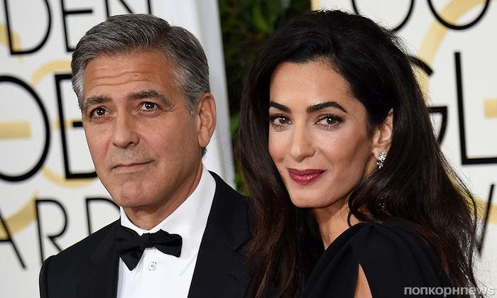 Джордж и Амаль Клуни собираются остановиться на двух детях