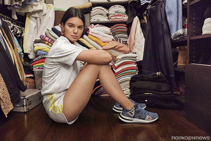 Фото: Кендалл Дженнер в рекламной кампании Adidas Originals Arkyn 2018