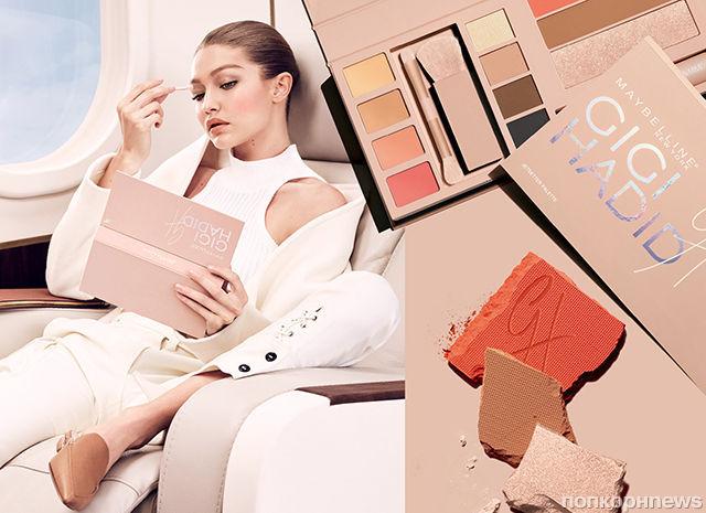 Джиджи Хадид снялась в рекламе своей коллекции косметики для Maybelline