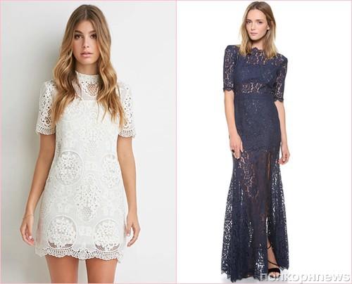 Платья гипюровые 2016