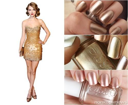 Черно золотистое платье