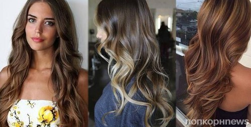 покраска волос тенденции 2016 года фото