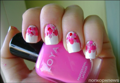 Идеи для розового маникюра