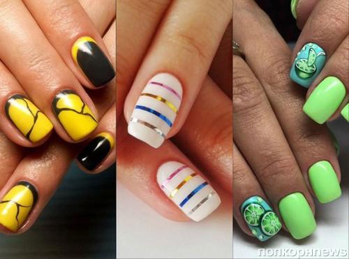 рисунки на ногтях 2016 фото новинки на лето