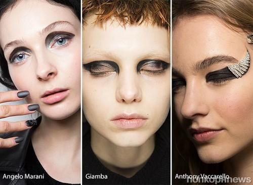 Фото макияжа осень зима
