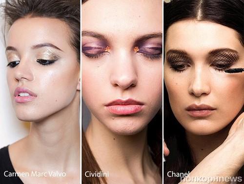 Модные тенденции в макияже глаз