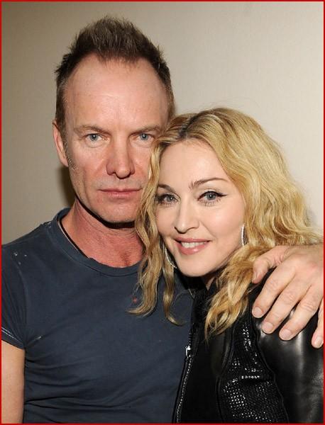 Стинг и Мадонна