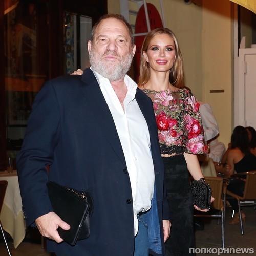 Харви Вайнстин с супругой Джорджиной Чапман