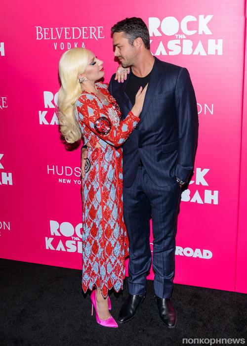 Lady GaGa и Тейлор Кинни