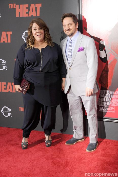 Мелисса МакКарти с мужем