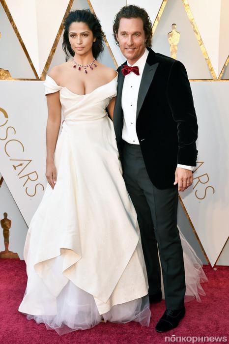 Мэттью Макконахи с супругой