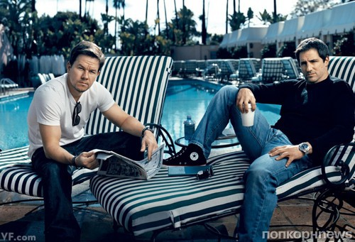 Mark Wahlberg and Stephen Levinson