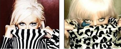 сравнение Lady Gaga и Кристины Агилеры