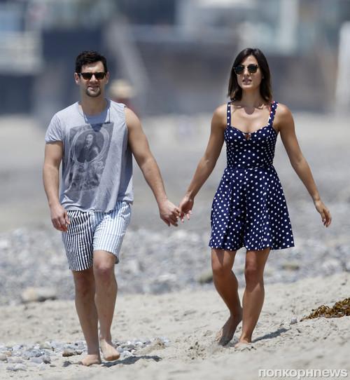 Джастин Барта с девушкой