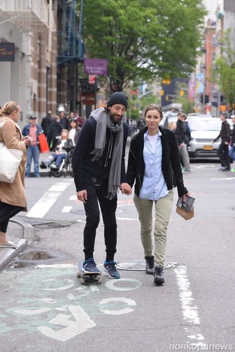 Эдриан Броуди и его девушка замечены в Сохо