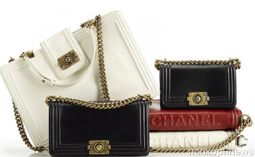 Сумки Boy Chanel из прошлой коллекции