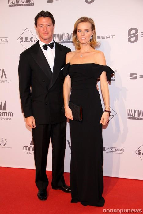 Ева Герцигова с мужем