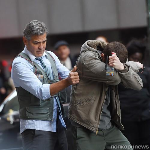 Джордж Клуни и Джек О'Коннелл