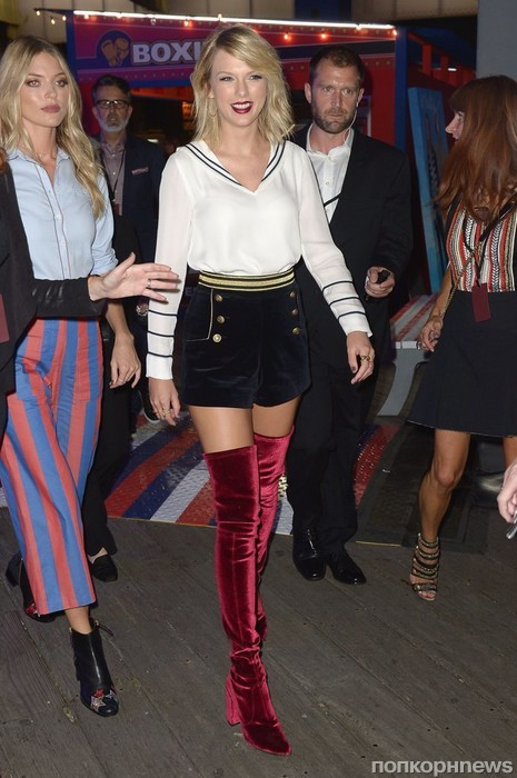 Тейлор Свифт на Неделе моды в Нью-Йорке