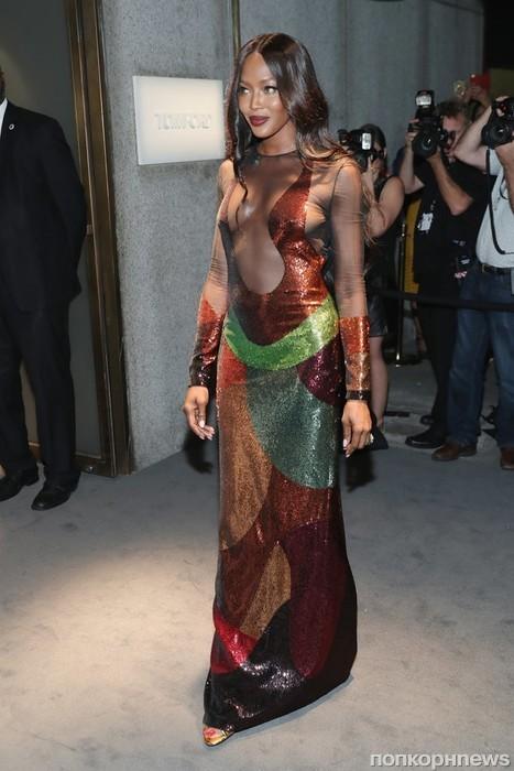 Наоми Кэмпбелл на Неделе моды в Нью-Йорке