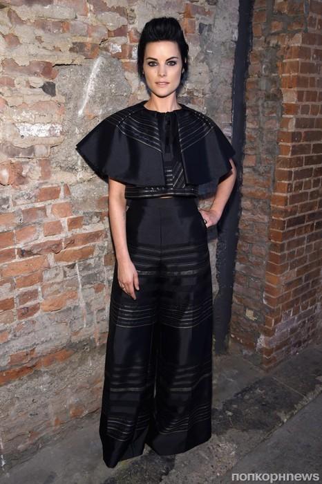 Джейми Александер на Неделе моды в Нью-Йорке