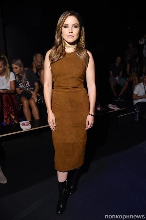 София Буш на Неделе моды в Нью-Йорке