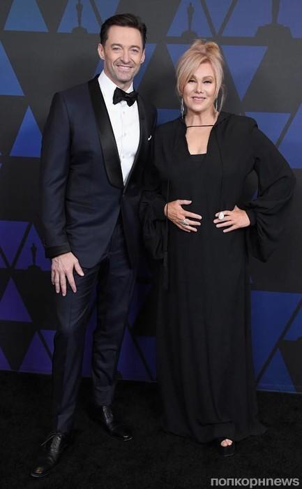 Хью Джекман с супругой