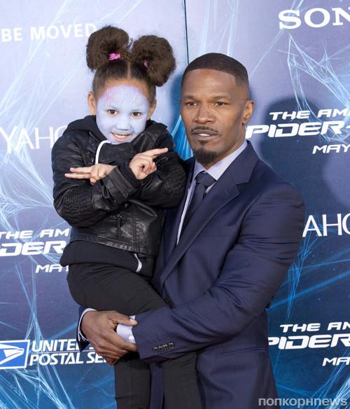 Джейми Фокс с дочкой