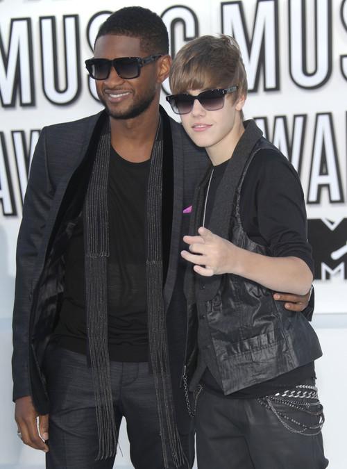Usher и Джастин Бибер
