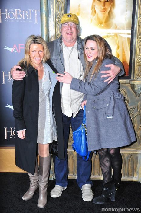 Чеви Чейз с семьей