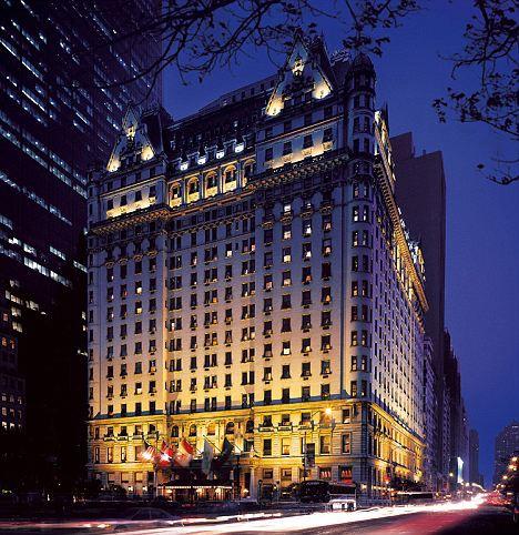 отель  Plaza, где все происходило