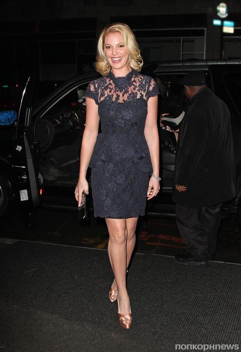 Кэтрин Хейгл на Неделе моды