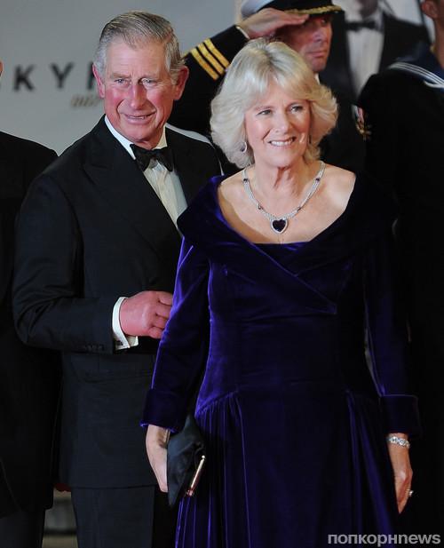 Принц Чарльз с женой