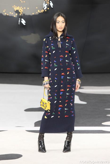 Модный показ Chanel. Осень / зима 2013-2014 милла йовович