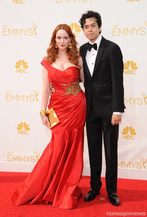Кристина Хендрикс с мужем