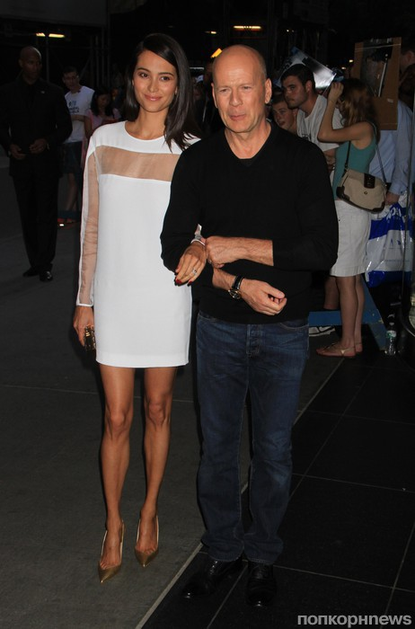 Брюс Уиллис с супругой
