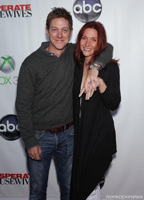 Кевин Рахм с женой