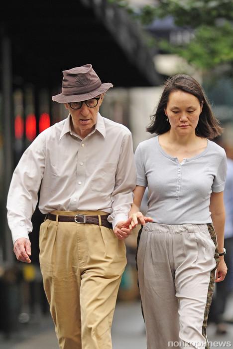 Вуди Аллен с женой