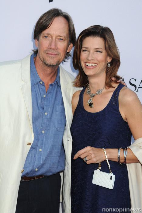 Кэвин Сорбо с женой