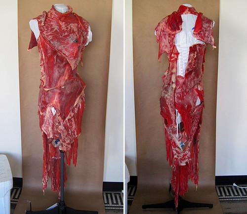платье Lady Gaga