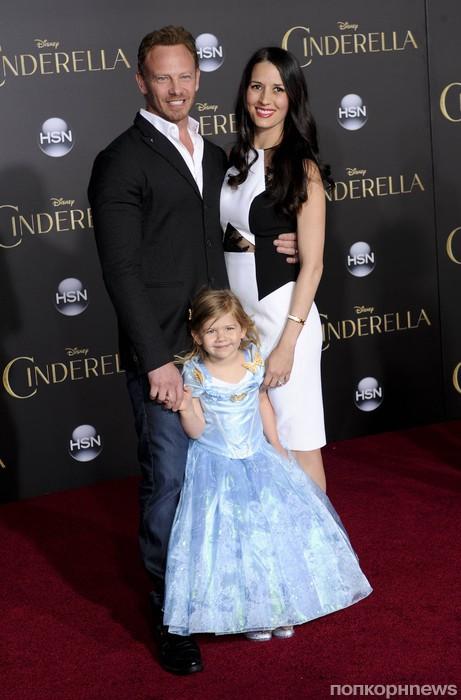 Йен Зиринг с семьей