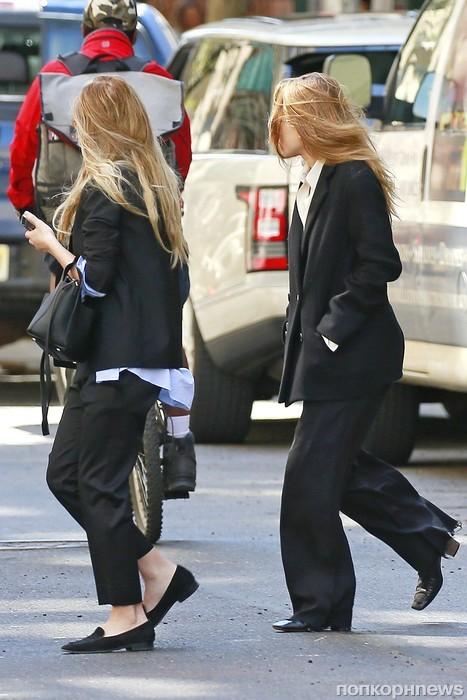 Мэри-Кейт и Эшли Олсен замечены в Нью-Йорке