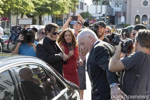 Джонни Депп и Эмбер Херд прибыли на судебное слушание в Австралию
