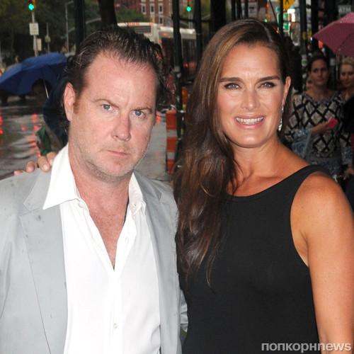 Брук Шилдс с мужем