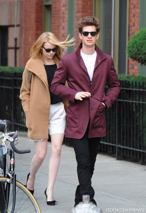 Эмма с партнёром по фильму